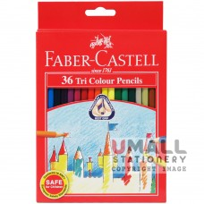 FABER-CASTELL TRI COLOUR PENCIL - 36 Colours
