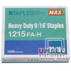 MAX Heavy Duty Staples 1215FA-H