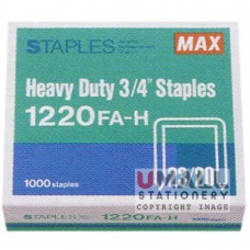 MAX Heavy Duty Staples 1220FA-H