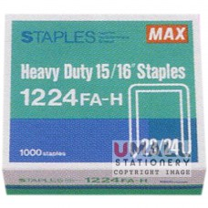 MAX Heavy Duty Staples 1224FA-H