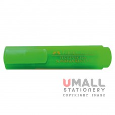 FABER-CASTELL TEXTLINER 1546 - Green, Packing: 10pcs/pack