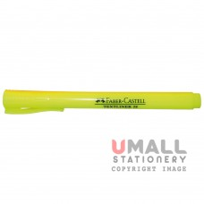 FABER-CASTELL TEXTLINER 38 - Yellow, Packing: 10pcs/pack