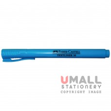 FABER-CASTELL TEXTLINER 38 - Blue, Packing: 10pcs/pack