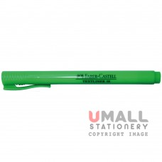 FABER-CASTELL TEXTLINER 38 - Green, Packing: 10pcs/pack