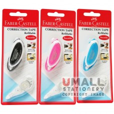 FABER-CASTELL Correction Tape Refillable 5mm x 6m