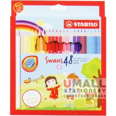STABILO Swans - 48 Colors Malaysia Penang Online Stationery Store