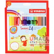 STABILO Swans - 24 Colors Malaysia Penang Online Stationery Store