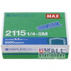 MAX Handy & Desktop Staples 	2115 1/4-5M