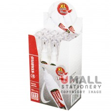 STABILO Swan white - Correction pen 10.0ml, Packing: 12 pcs/box