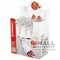 STABILO Swan white - Correction pen 7.0ml, Packing: 12 pcs/box