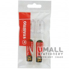 STABILO Swan white - Correction pen 7.0ml, 2 in 1