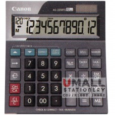 CANON Desktop AS-220RTS | Check & Correct Function - 12-digit desktop, 10pcs