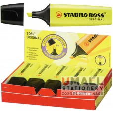 STABILO BOSS ORIGINAL - Highlighter - Packing: 10pcs/pack