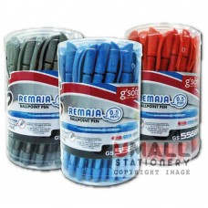 g'soft REMAJA Ballpoint pen - Black/ Blue/ Red, Packing: 50pcs/box