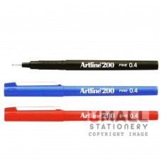 ARTLINE200 Writing Pen - Black, Packing: 12pcs/box