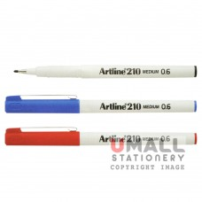 ARTLINE210 Writing Pen - Black, Packing: 12pcs/box