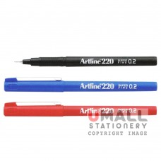 ARTLINE220 Writing Pen - Black, Packing: 12pcs/box
