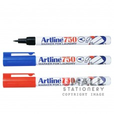 ARTLINE 750 Marker For Laundry - Black