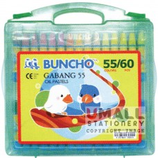 BUNCHO - GABANG 55 Oil Pastels, Packing: 6 sets/box