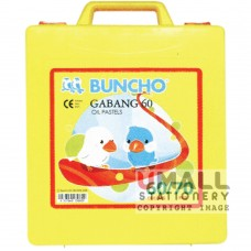 BUNCHO - GABANG 60 Oil Pastels, Packing: 6 sets/box