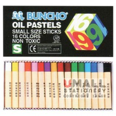 BUNCHO Oil Pastels, small size sticks, Packing: 12 sets/box