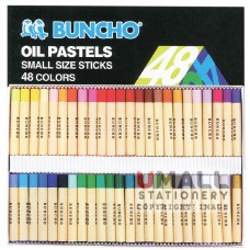 BUNCHO Oil Pastels FG-PS48, small size sticks, Packing: 6 sets/box