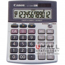 CANON Desktop LS-120RS | Check & Correct Function - 12-digit mini desktop, 10pcs