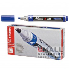 STABILO Mark-4-all - Permanent marker - Black, Packing: 10pcs/box
