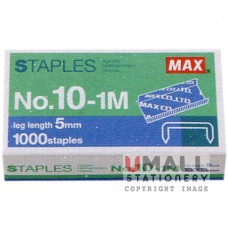 MAX Handy & Desktop Staples 	No.10-1M
