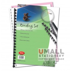 S101 - Binding Set White 30's