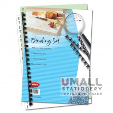 S105 - Binding Set White 50's - OUT OF STOCK