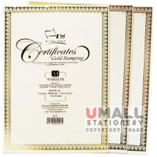 S17 - GOLD STAMPING CERT