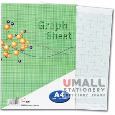 S25 - GRAPH SHEET - DOUBLE SIDE A4 40's