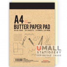 S3041 - Butter Paper Pad - OUT OF STOCK Malaysia Penang Online Stationery Store