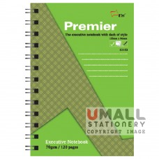 S3153 - Premier Ring Note Book 70gm