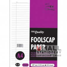 S37 - Foolscap Paper BL A4 200's 70gsm - OUT OF STOCK