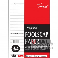S37 - Foolscap Paper NL A4 100's 70gsm - OUT OF STOCK