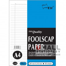 S38 - Foolscap Paper A4 80's 80gsm - OUT OF STOCK