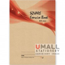S4006 - A4 Square Exercise Book