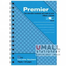 S4163 - Premier Ring Note Book 70gm