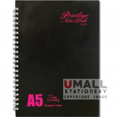 S5171 - RING NOTE BOOK - PRIVILEGE  Malaysia Penang Online Stationery Store