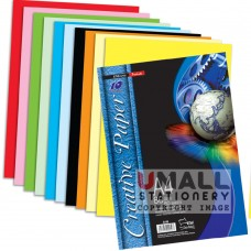 S56 - 10 COLOURS CREATIVE PAPER 80gm