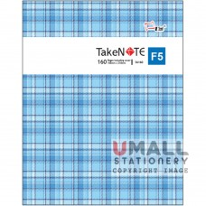 S6160 - TakeNote PVC Notebook Malaysia Penang Online Stationery Store