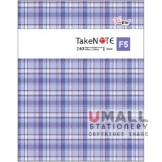 S6240 - TakeNote PVC Notebook Malaysia Penang Online Stationery Store