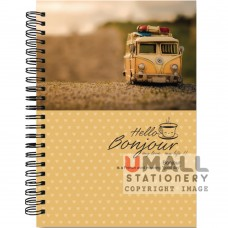 S6384 - RING NOTE BOOK - PVC