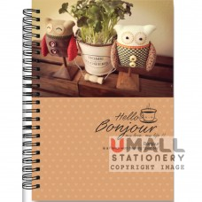 S6385 - RING NOTE BOOK - PVC