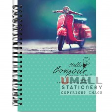 S6386 - RING NOTE BOOK - PVC