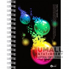 S6526 - Ring Note Book Highlight Color paper Malaysia Penang Online Stationery Store