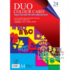 S68 - DUO COLOUR CARD