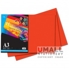 S74 - Colour Paper - Deep A3 20's 80gsm - OUT OF STOCK